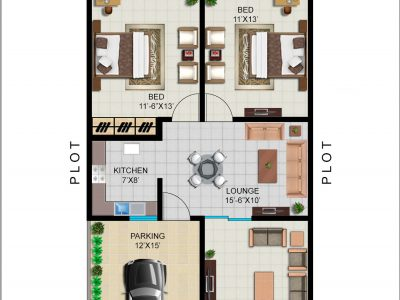 GROUND FLOOR PLAN (120 SYD)