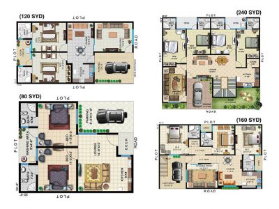 COMMANDER CITY TYPICAL FLOOR PLANS