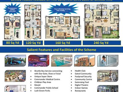 LIMITED HOUSES AVAILABLE